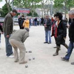 Mini concours de boules - 10 Mai 2017